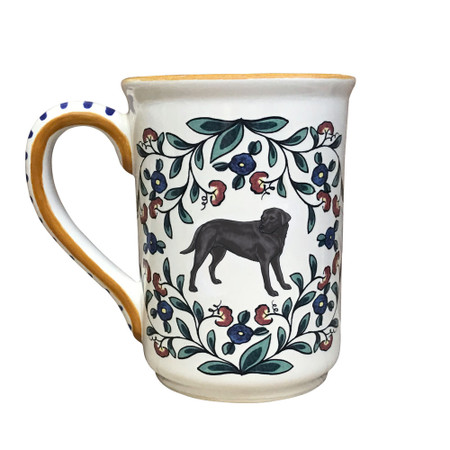 Handmade Black Lab Mug from shepherds-grove.com