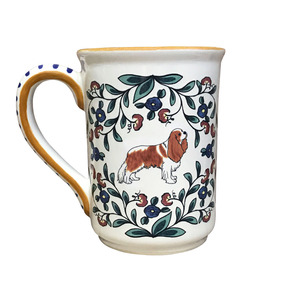 Blenheim Cavalier King Charles Spaniel mug - handmade by shepherds-grove.com