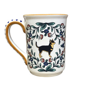 Black and Tan Chihuahua mug - handmade by shepherds-grove.com.
