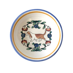Basset hound sauce bowl by shepherds-grove.com