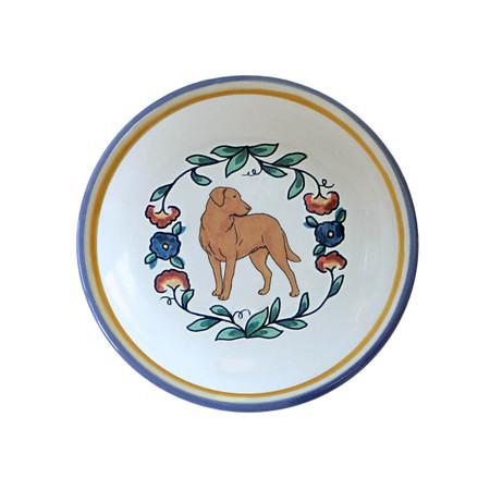 Chesapeake Bay Retriever ring dish / dipping bowl from shepherds-grove.com
