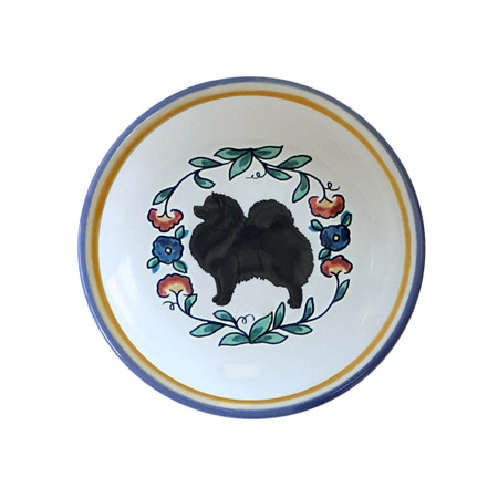 Black Pomeranian ring dish / dipping bowl from shepherds-grove.com