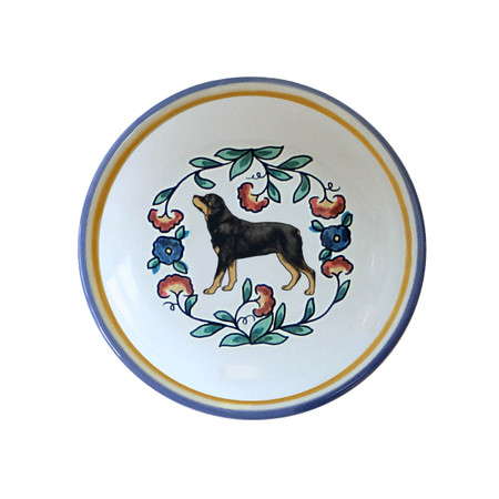 Rottweiler ring dish / dipping bowl from shepherds-grove.com