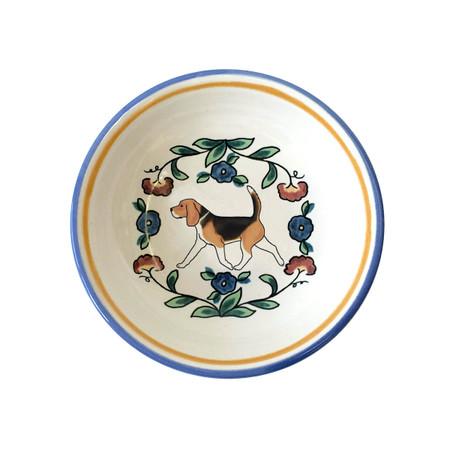 Beagle ring dish (dipping bowl) from shepherds-grove.com