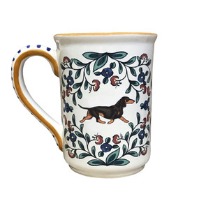 Black and Tan Dachshund mug by shepherds-grove.com