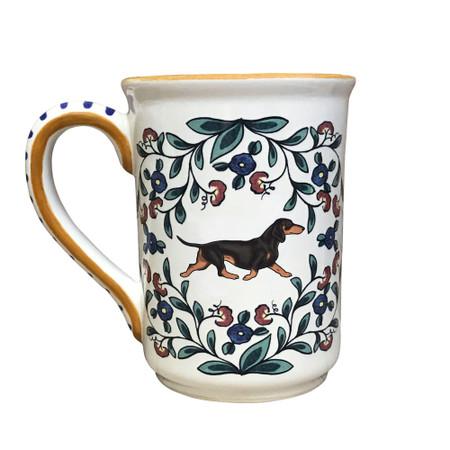 Black and Tan Dachshund mug by shepherds-grove.com