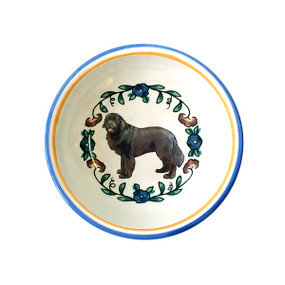 Newfoundland Dog Dipping Bowl by shepherds-grove.com