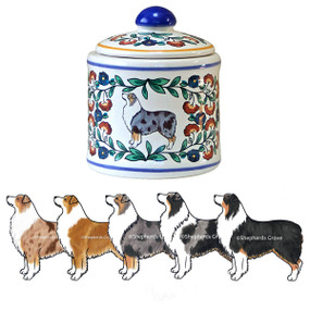Australian Shepherd Sugar Bowl