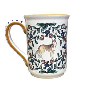 Handmade Siberian Husky mug from shepherds-grove.com -
