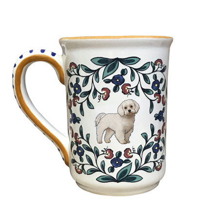 Handmade Maltese Mug by shepherds-grove.com