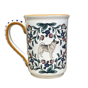 Norwegian Elkhound Mug by shepherds-grove.com - view one
