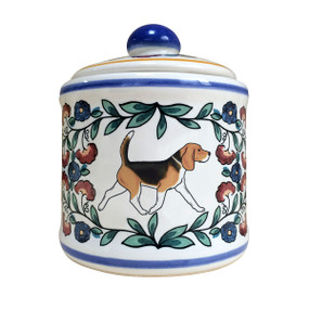 Handmade Beagle sugar bowl by shepherds-grove.com