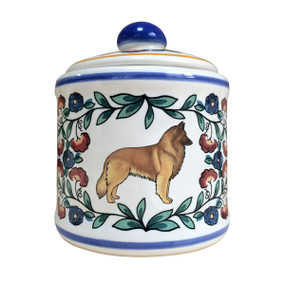 Handmade Belgian Tervuren sugar bowl by shepherds-grove.com