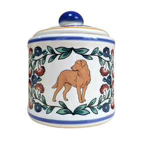 Chesapeake Bay Retriever sugar bowl - handmade by shepherds-grove.com