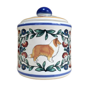 Sable Collie sugar bowl made by shepherds-grove.com