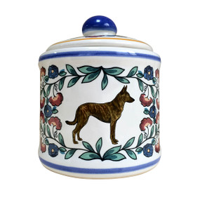 Dutch Shepherd sugar bowl - handmade by shepherds-grove.com