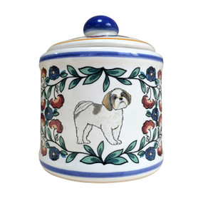Shih Tzu sugar bowl - handmade by shepherds-grove.com