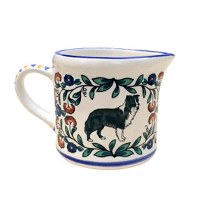 Border Collie Creamer - handmade by shepherds-grove.com