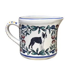 Boston Terrier Creamer - handmade by shepherds-grove.com