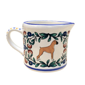 Boxer dog (Tan) creamer - handmade by shepherds-grove.com