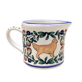 Golden Retriever Creamer - handmade by shepherds-grove.com