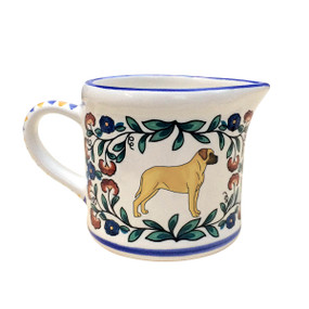 Mastiff Creamer - handmade by shepherds-grove.com
