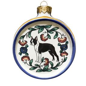 Boston Terrier Ornament - handmade by shepherds-grove.com