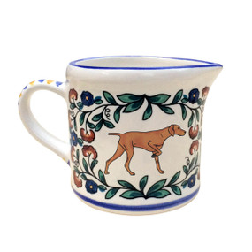 Vizsla creamer - handmade by shepherds-grove.com