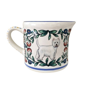 Handmade West Highland Terrier (Westie) Creamer by shepherds-grove.com