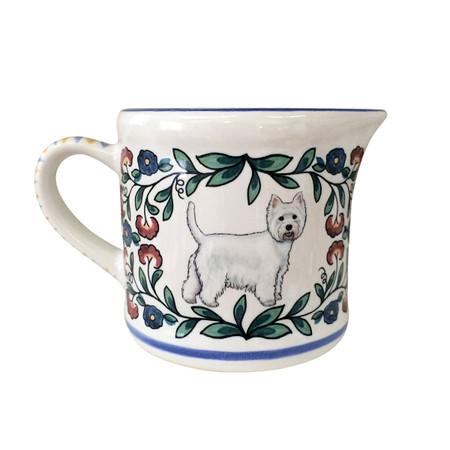 Handmade West Highland Terrier (Westie) Creamer by shepherds-grove.com