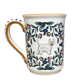 Handmade West Highland Terrier mug from shepherds-grove.com