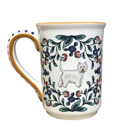 Handmade West Highland Terrier mug from shepherds-grove.com