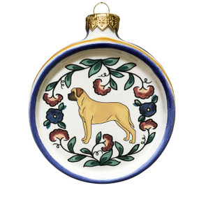 Mastiff Dog Lover Christmas Ornament
