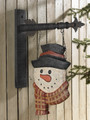 Snowman/Scarf Replacement Sign