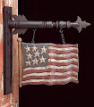 Hanging Carved Flag Replacement