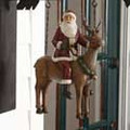 Santa on Reindeer Replacement Arrow Sign
