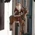 Santa on Reindeer Replacement Arrow Sign