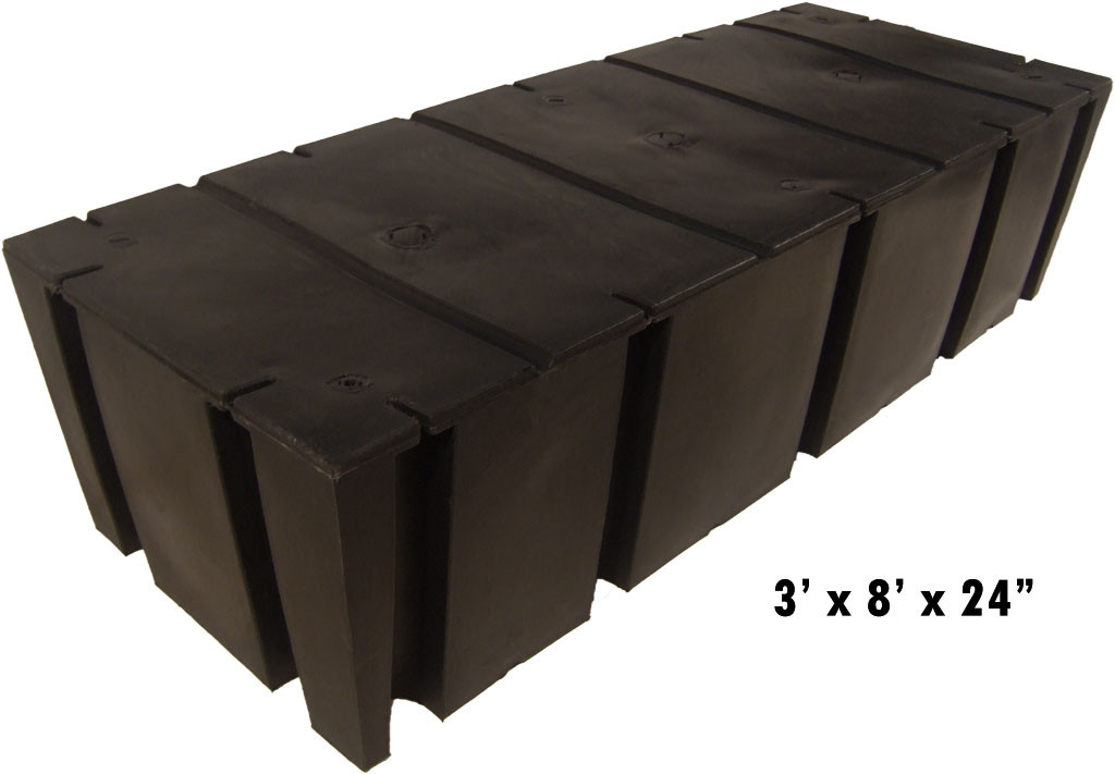"HarborWare 3' x 8' x 24"" Dock Float Drums, 2565lbs"