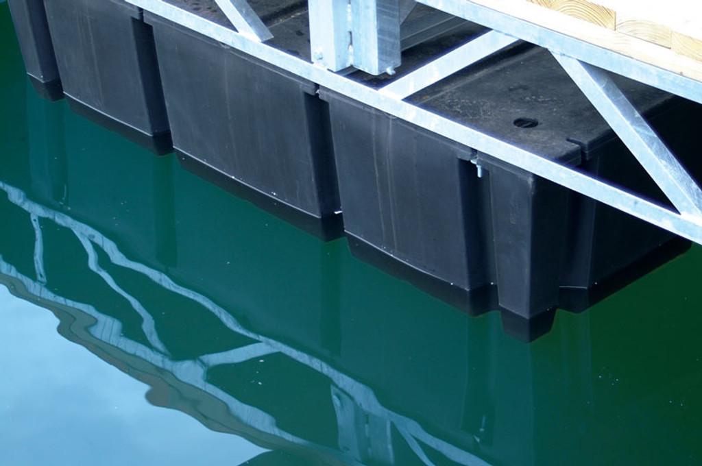 "HarborWare 3' x 10' x 16"" Dock Float Drums, 2224lbs"