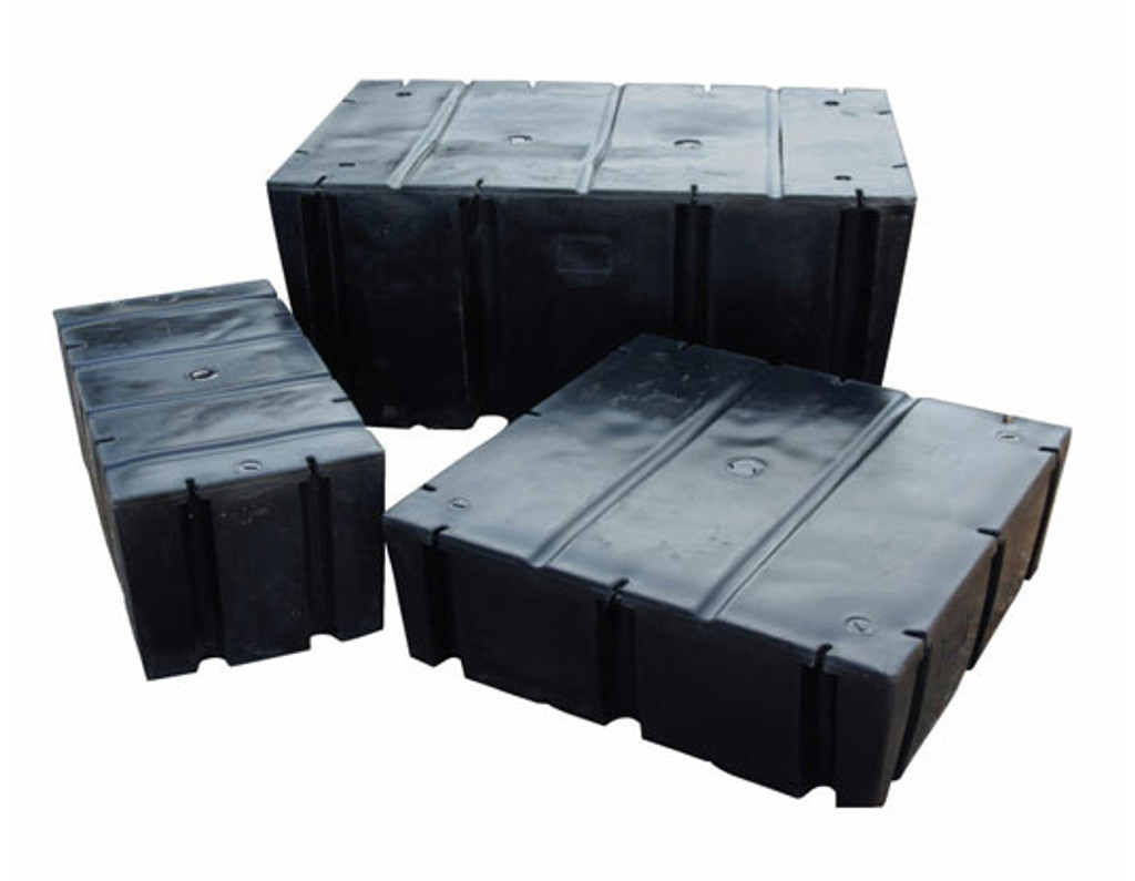 "HarborWare 4' x 8' x 16"" Dock Float Drums, 2150lbs"