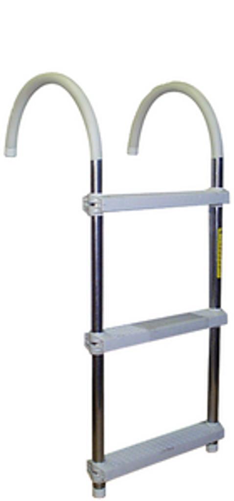 """Garelick 3 Step 11"""" Hook Ladder"""