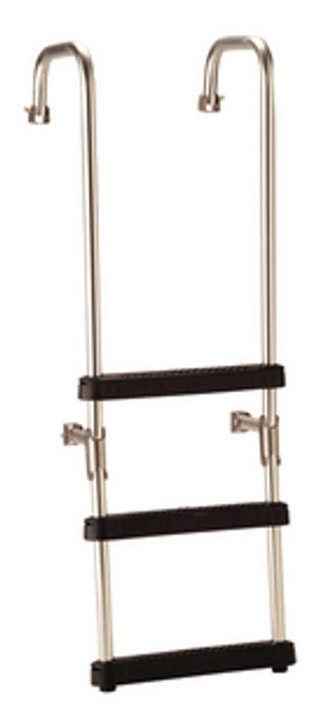 """Garelick 3 Step Over Transom Ladder 13.5"""""""