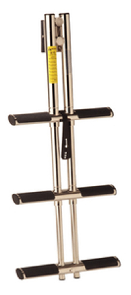 Garelick 3 Step Telescoping Stainless Steel Sport/Diver Ladder