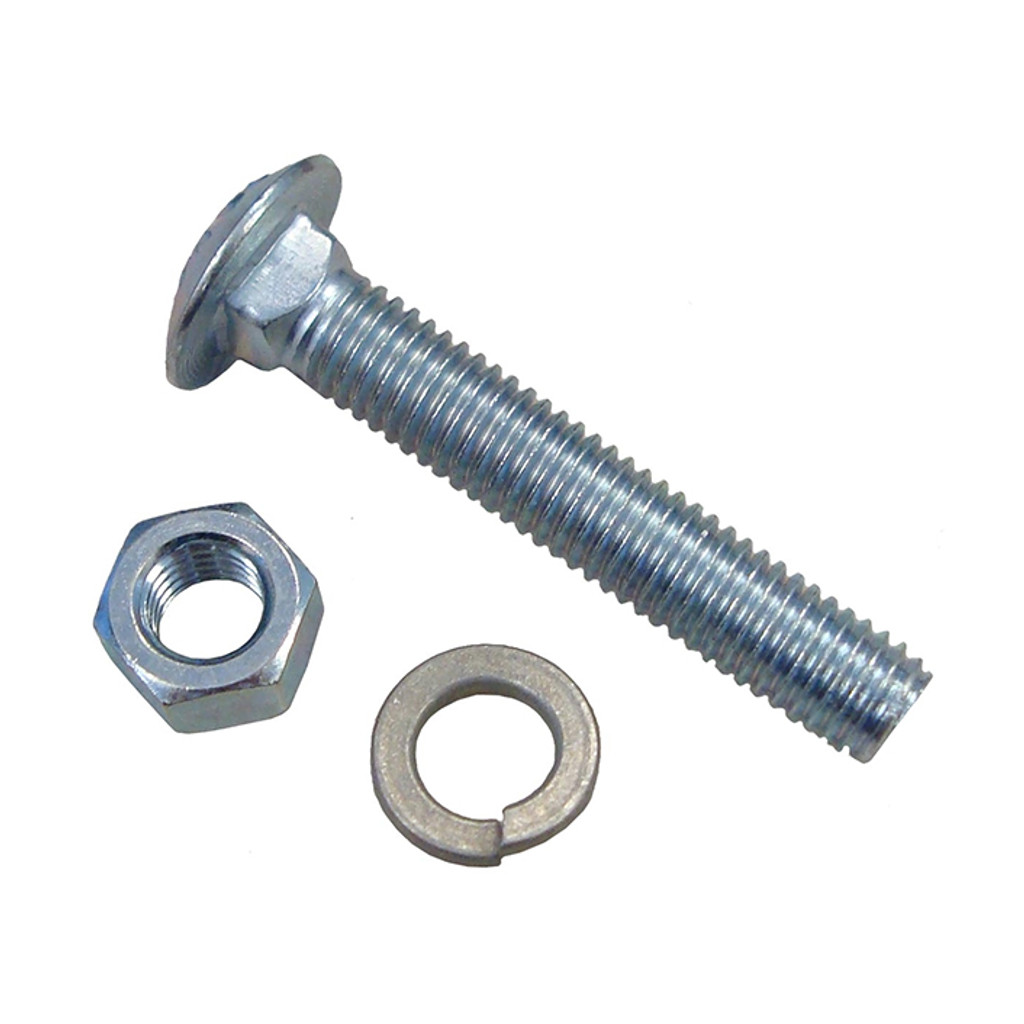 HarborWare Fold-Down Dock Cleat Bolt, Nut, Washer, 4-pk