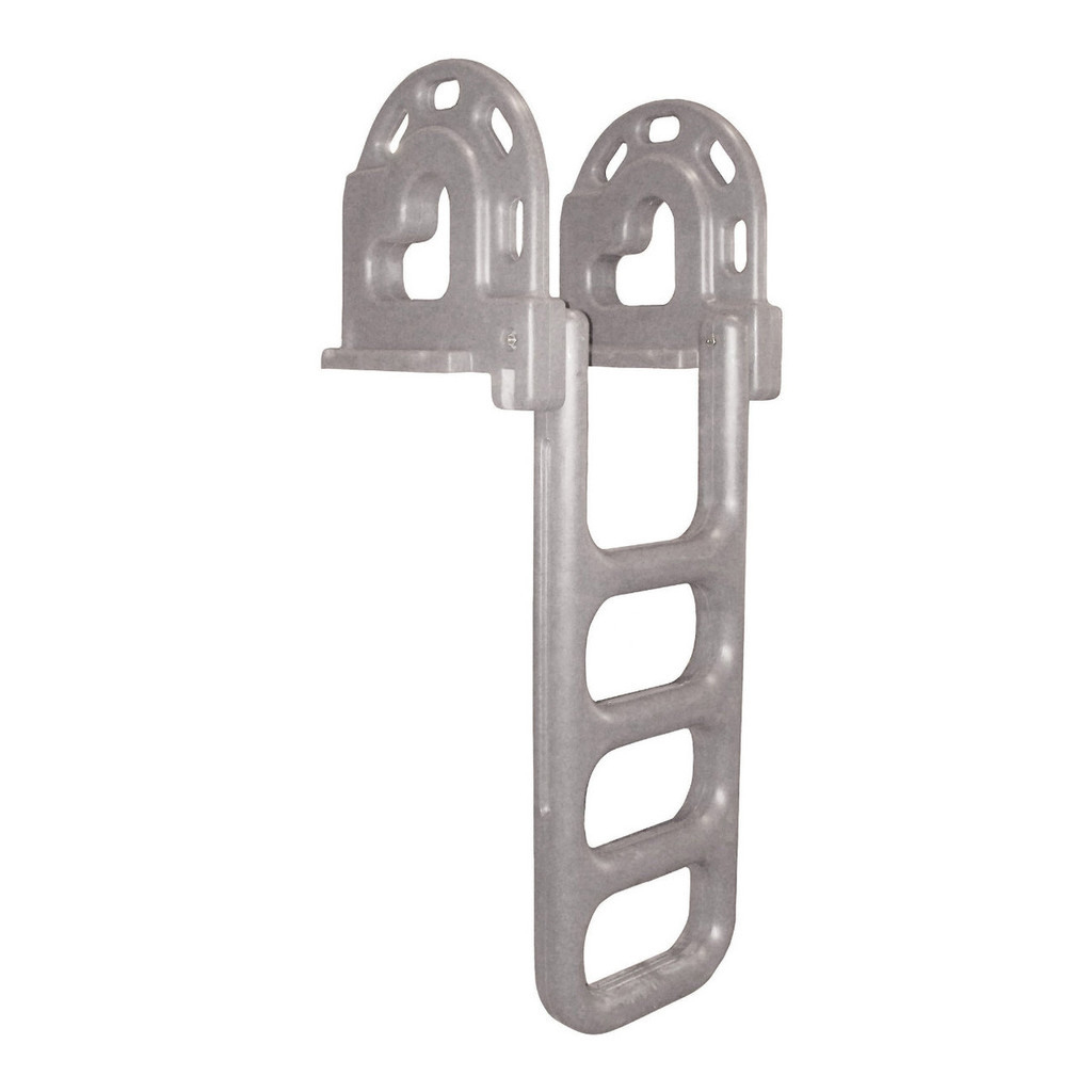 Dock Edge Roto Flip-Up Ladder, 4-Step