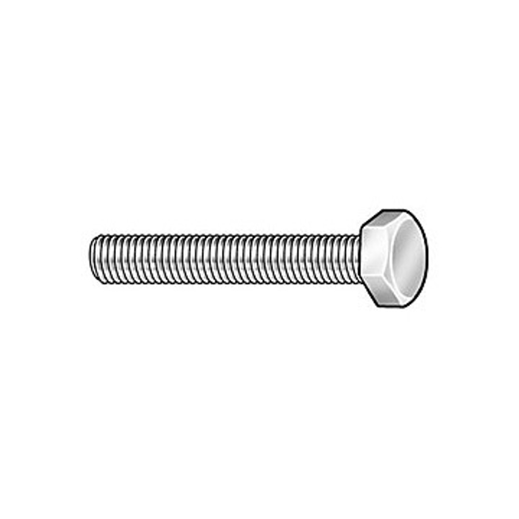 HarborWare Zinc Bolt 3/8''x3''