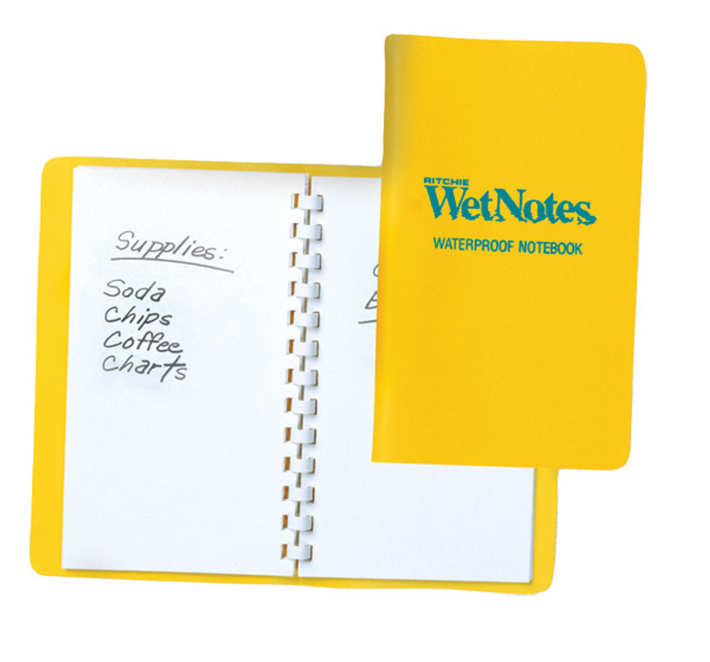 Ritchie Navigation Wet Notes, Waterproof Notepad