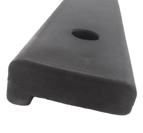 HarborWare 3' Vertical Post Dock Bumper, Single Lip (Box of 12)
