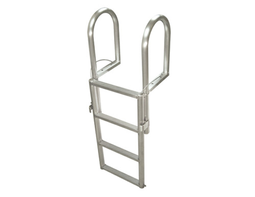 HarborWare 4-Step Finger Pier Dock Lift Ladder