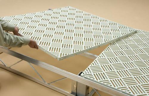HarborWare Plastic Grate Decking Panels, 4' x 5'